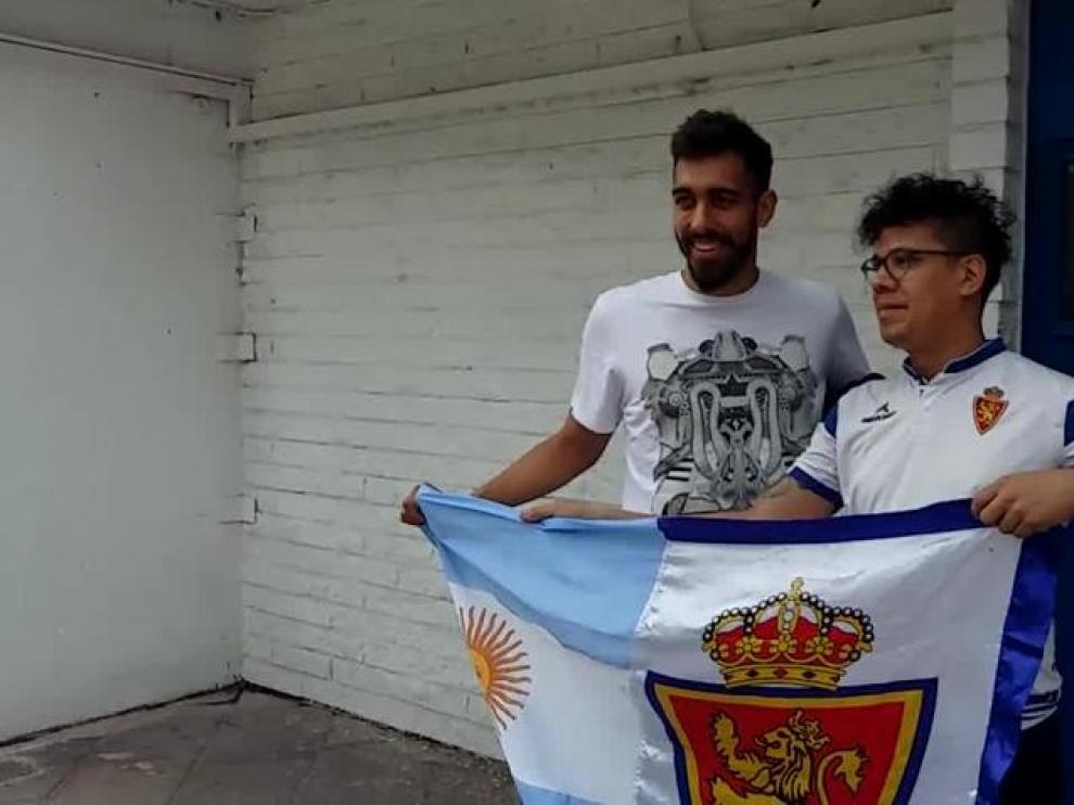 """""""Vengo desde Argentina para animar al Real Zaragoza"""""""