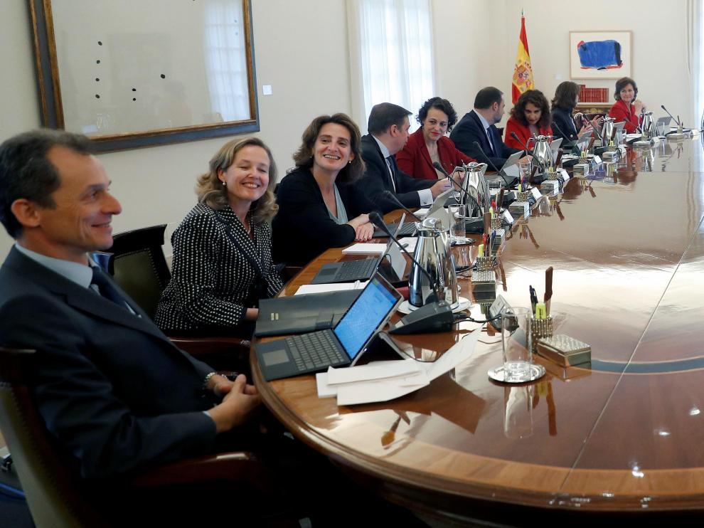 Consejo de Ministros de Sánchez