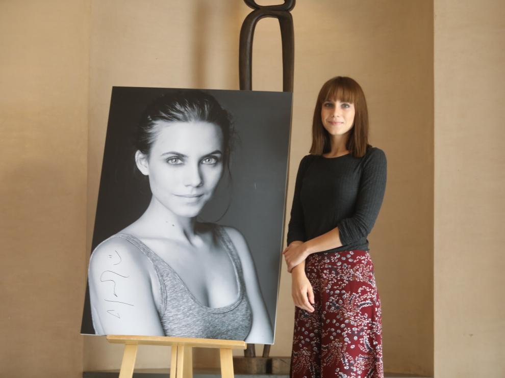 Aura Garrido recibe hoy el premio Ciudad de Huesca
