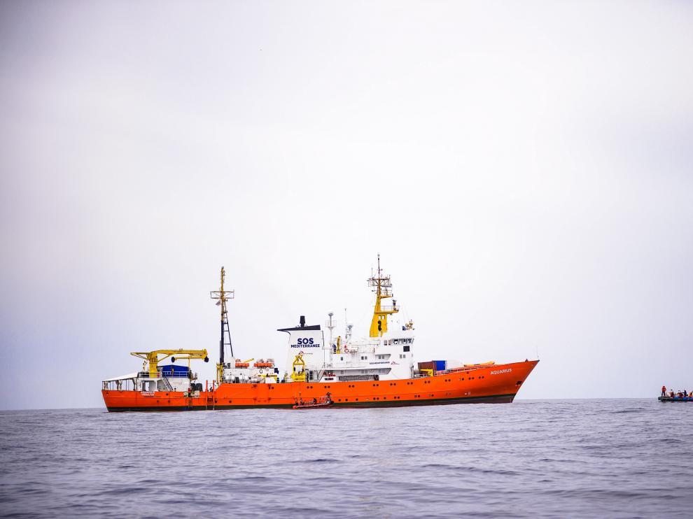 El Ejecutivo está en coordinación con la Generalitat valenciana para la llegada del buque, con 629 inmigrantes a bordo y cuya entrada en Italia ha sido denegada por las autoridades de ese país.