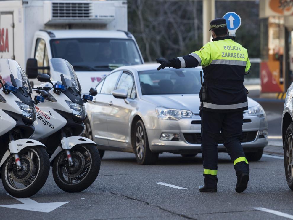 La Policía Local de Zaragoza ha llevado a cabo 1.558 pruebas de alcoholemia en siete días.