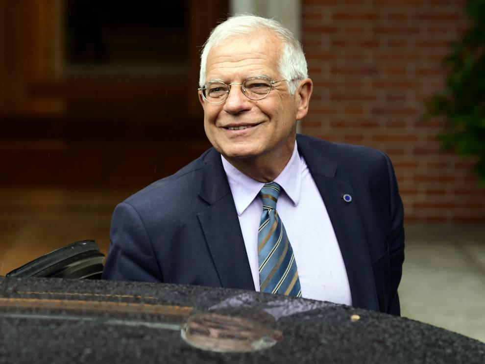 Josep Borrell, ministro de Asuntos Exteriores, Unión Europea y Cooperación.