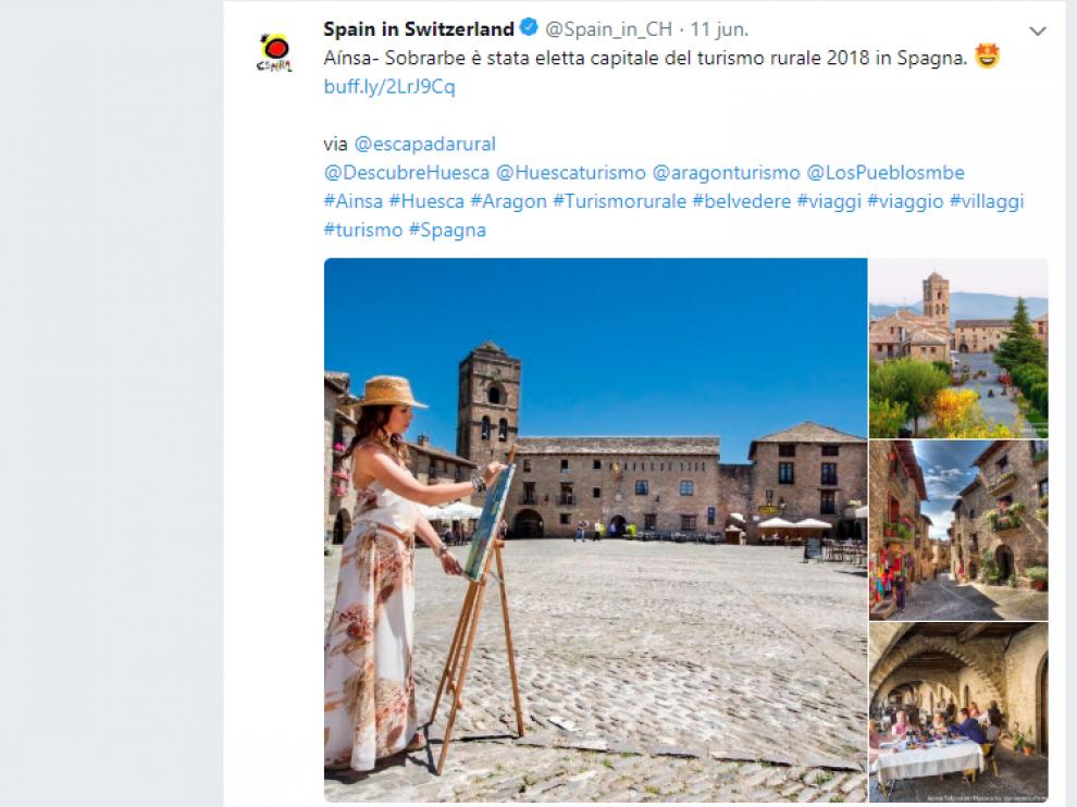 Tuit de Spain in Switzerland