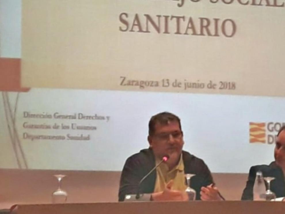 El director general de Derechos y Garantías, Pablo Martínez ha abierto las jornadas de trabajo social