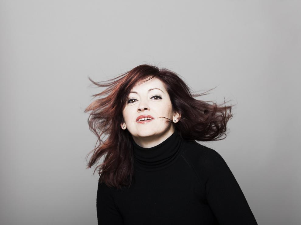 La zaragozana Silvia Márquez, director artística de La Tempestad e intérprete de fortepiano