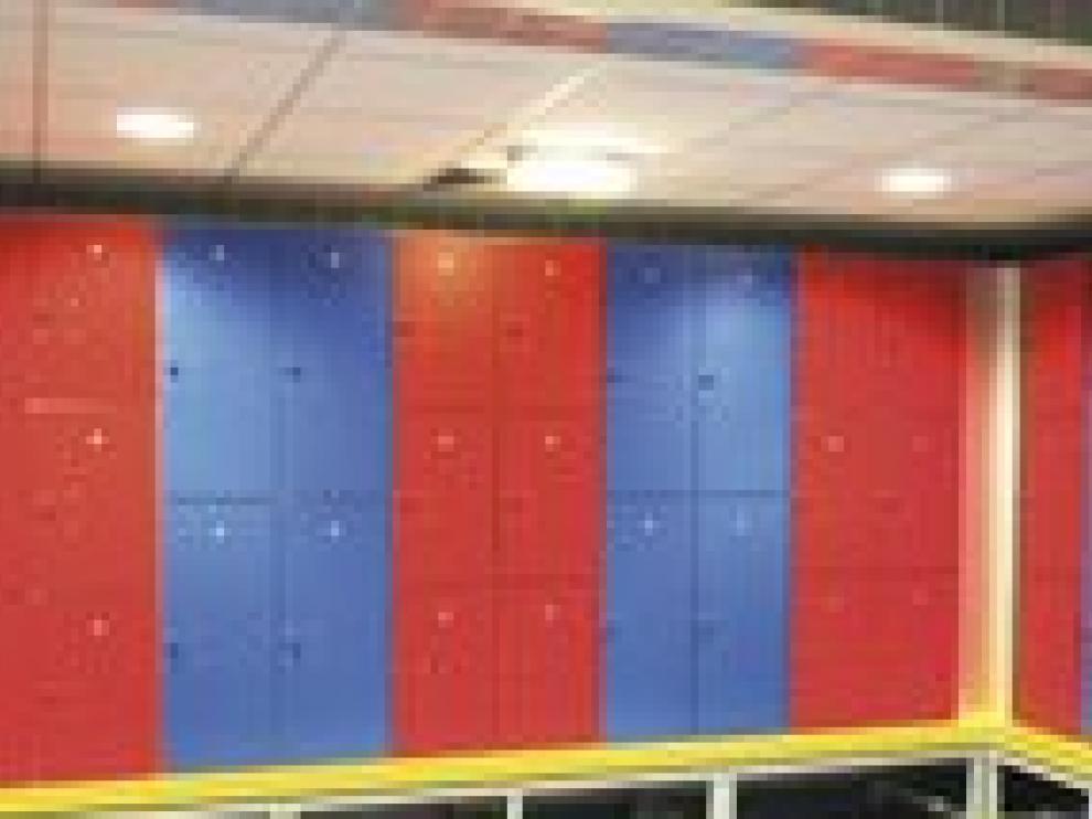Taquillas de un gimnasio