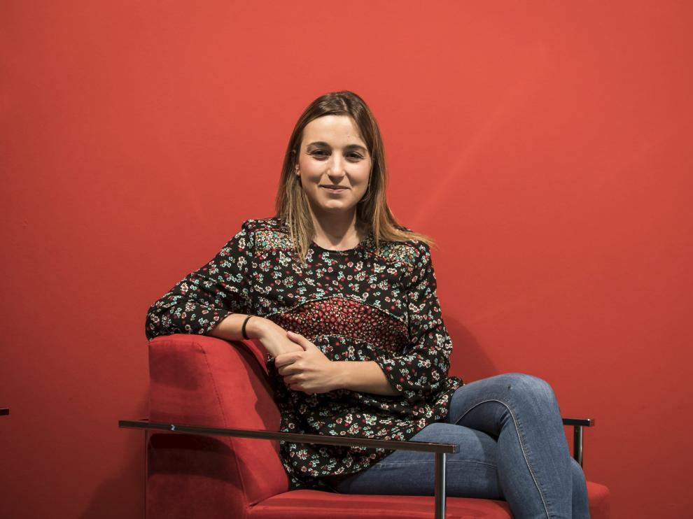 Marta Vitores tiene 24 años y estudió Biotecnología en la Universidad de Zaragoza.
