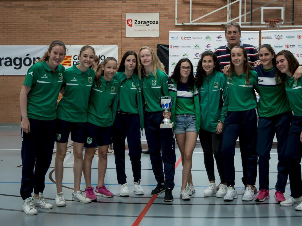 Entrega de trofeos a los mejores equipos y jugadores de Aragón