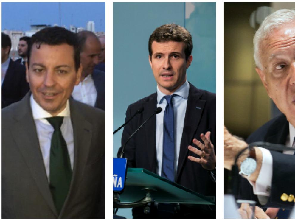 José Luis Bayo, Pablo Casado, José Manuel García-Margallo y José Ramón García Hernández.