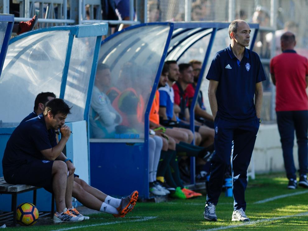 Javier Garcés, al frente del Juvenil A la pasada campaña, es el nuevo entrenador del Deportivo Aragón.
