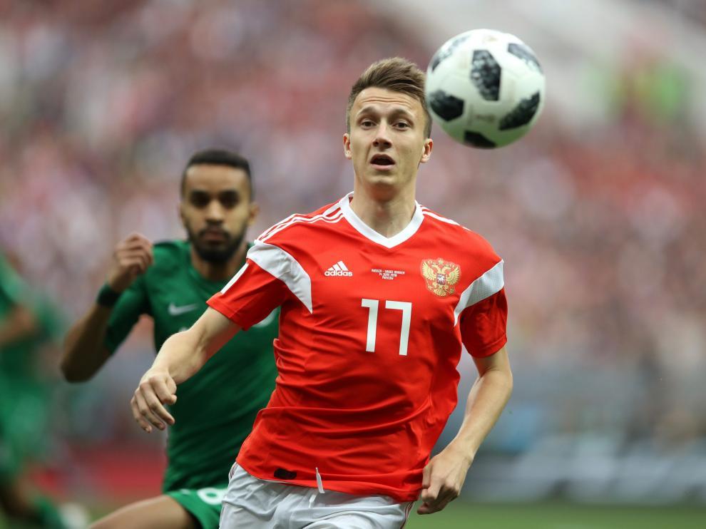 El recién nacido se llama Alexándr, en honor al futbolista Aleksandr Golovín.