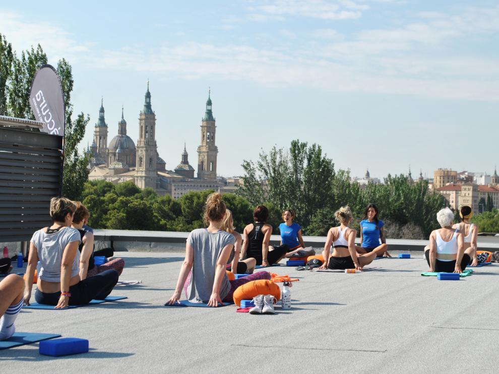 La capital aragonesa cuenta cada día con más apasionados de esta actividad.
