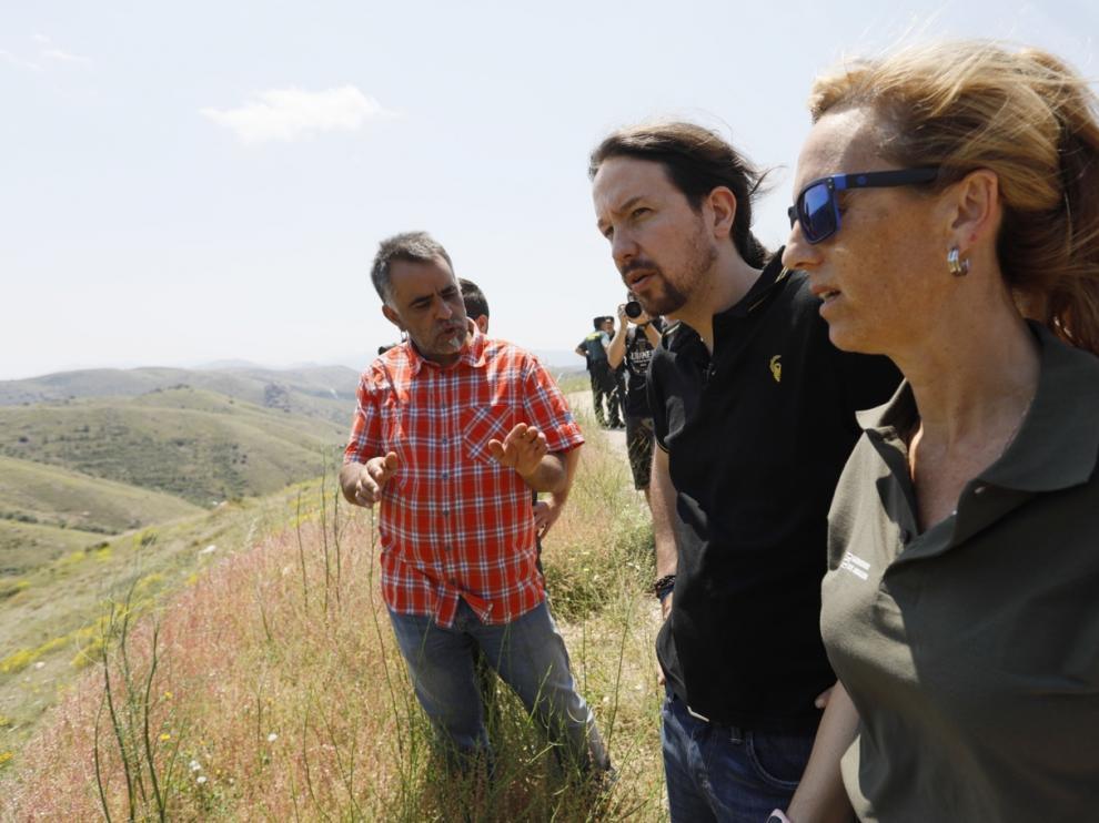 Pablo Iglesias en Brea de Aragón