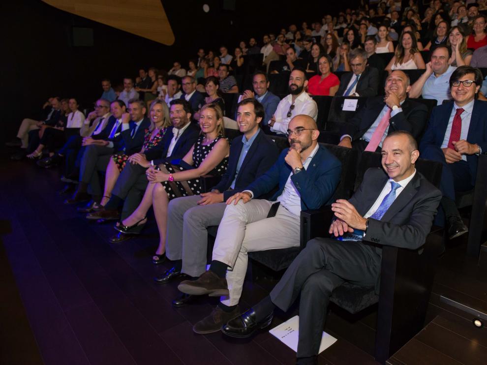 Entrega de premios de la IV edición de Premios Aragón en la Red
