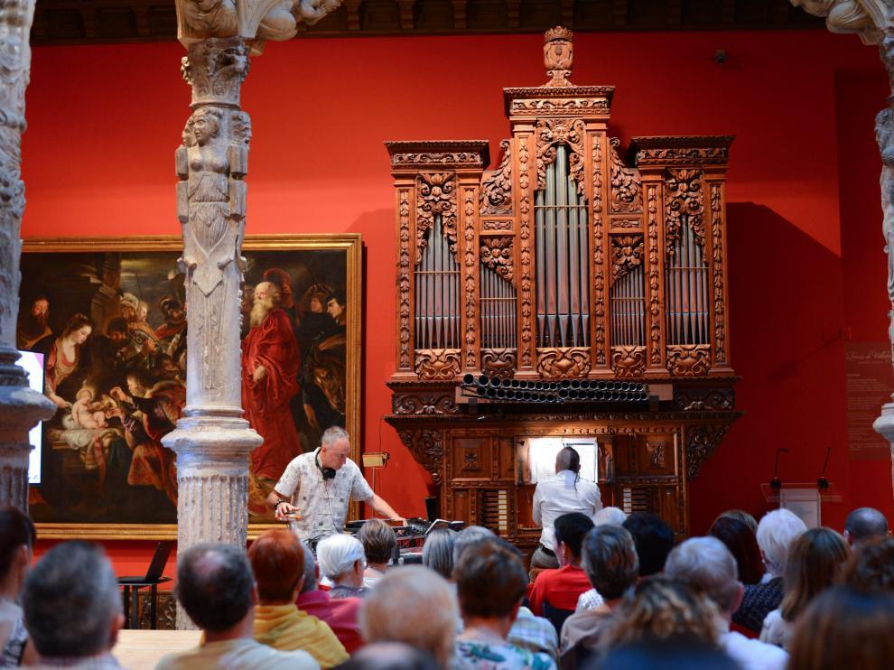 Música de ógano con Jesús Gonzalo y DJ Lord Sassafras en el Patio de la Infanta