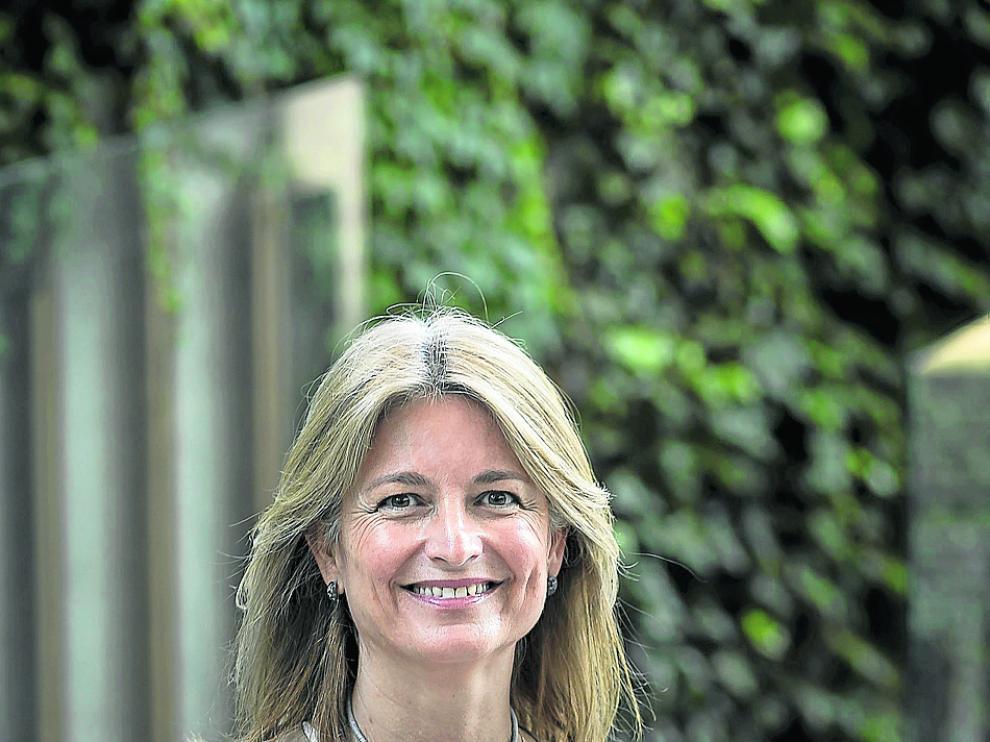 Laura Ros Verhoeven, el pasado martes en Zaragoza.