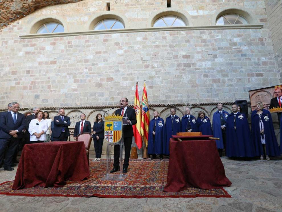 Acto solemne de reinhumación, este domingo, en el monasterio de San Juan de la Peña.