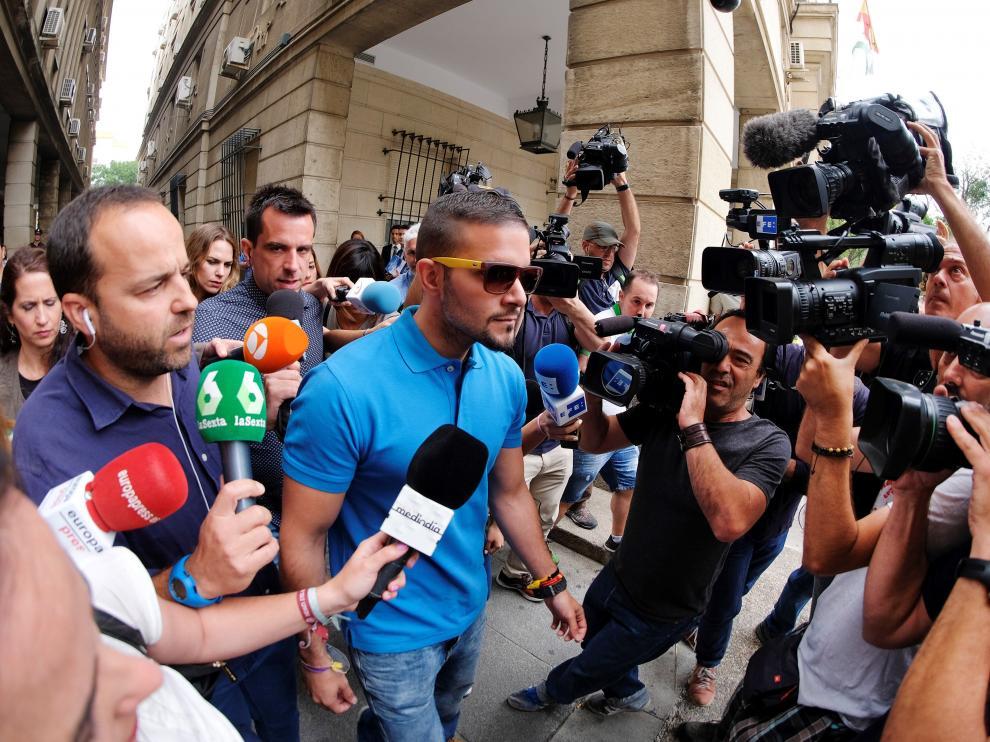 Ángel Boza se ha presentado sobre las 12 en los juzgados de Sevilla