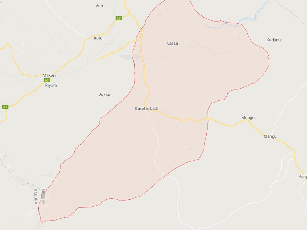 Zona de Barkin Ladi, donde se produjeron los ataques de los pastores