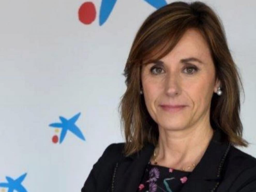 Cristina González Viu, nueva directora de CaixaBank en Aragón y La Rioja.