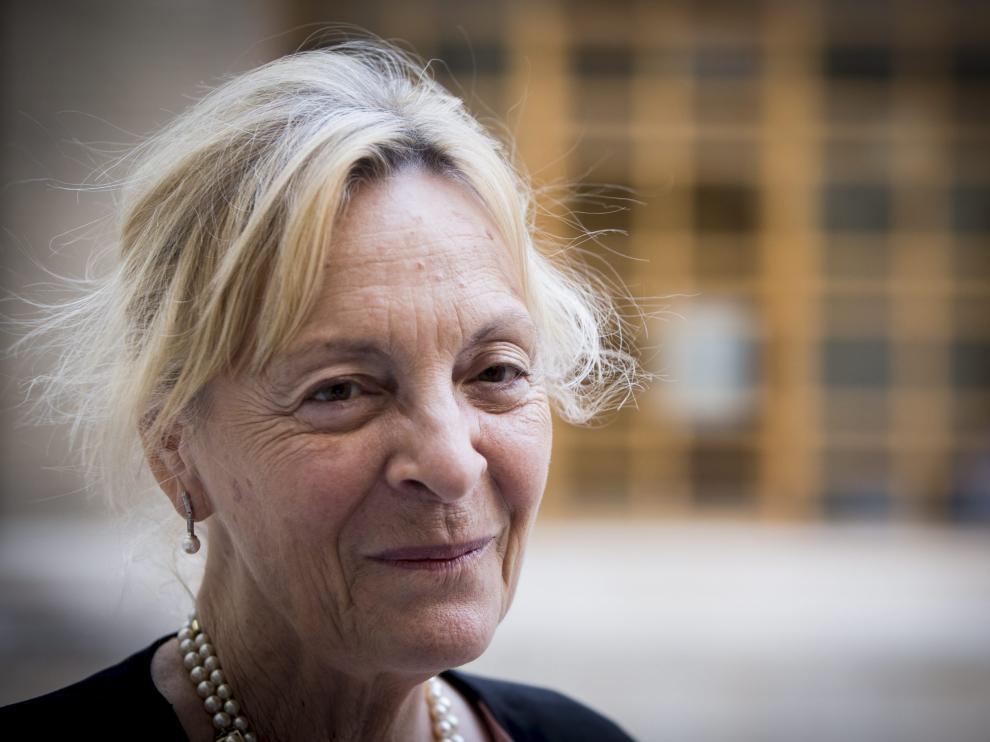 Soledad Puértolas, en una imagen de archivo.