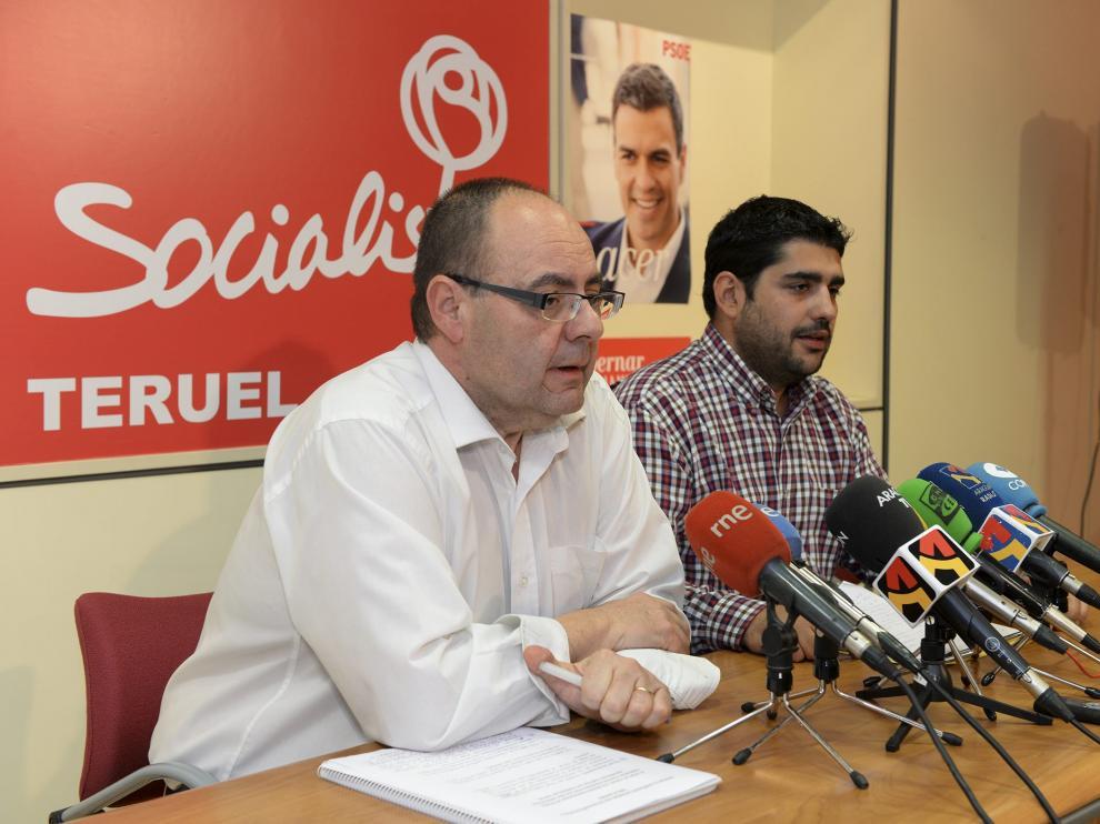 José Ramón Morro, a la izquierda, y su previsible sustituto en la DPT, Diego Piñeiro, .