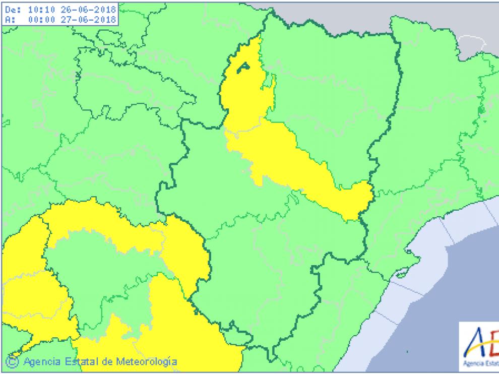 Previsión de este martes para Aragón