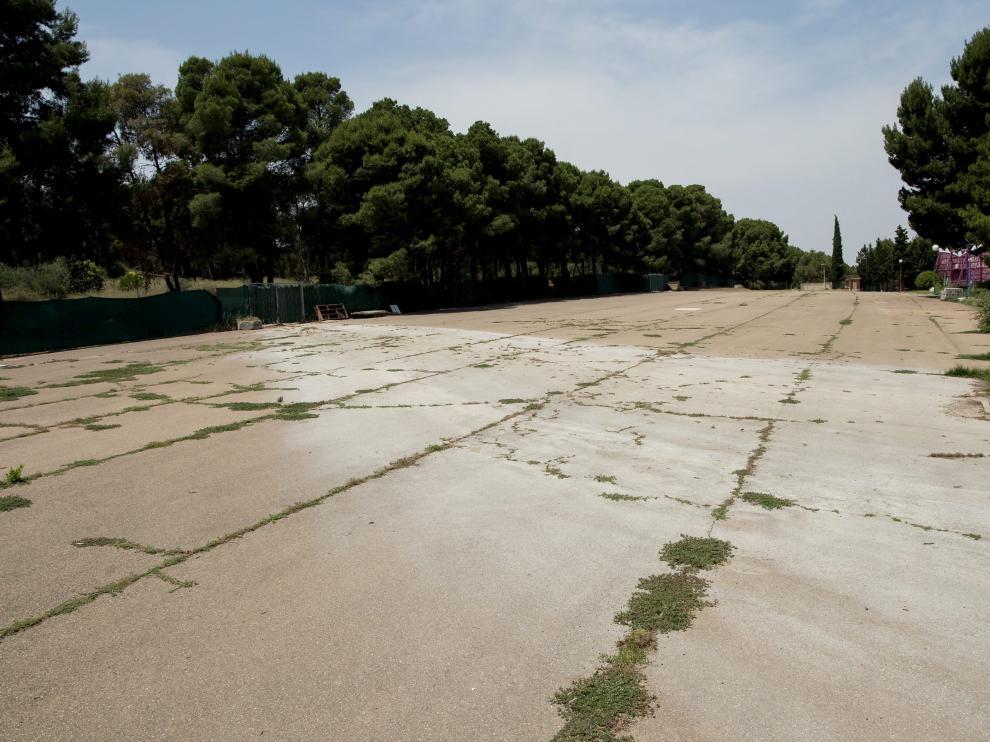 Terreno asfaltado de 10.000 metros cuadrados en el que se instalaría Interpeñas