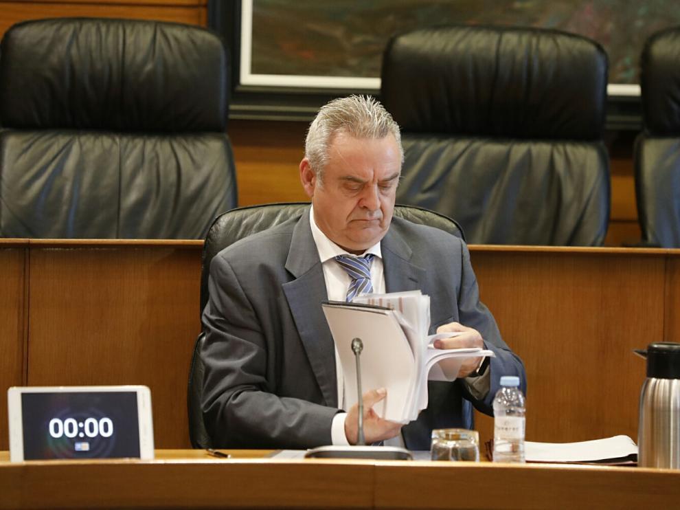 Boné, este miércoles, en la comisión de investigación de las Cortes sobre el plan de depuración