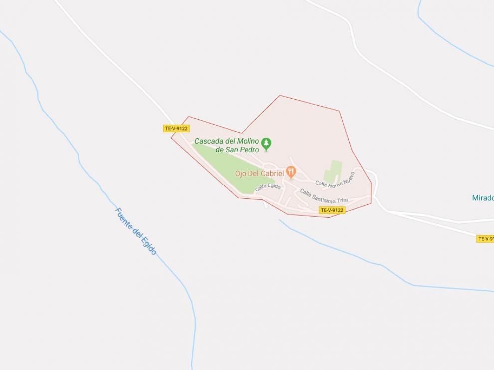 La cueva de la Obriga se encuentra en el término municipal de El Vallecillo.