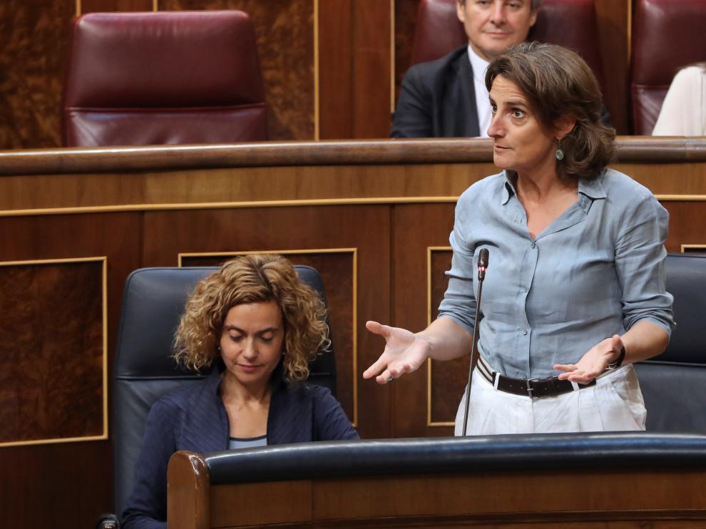 Teresa Ribera, ministra para la Transición Ecológica, en una imagen de archivo.