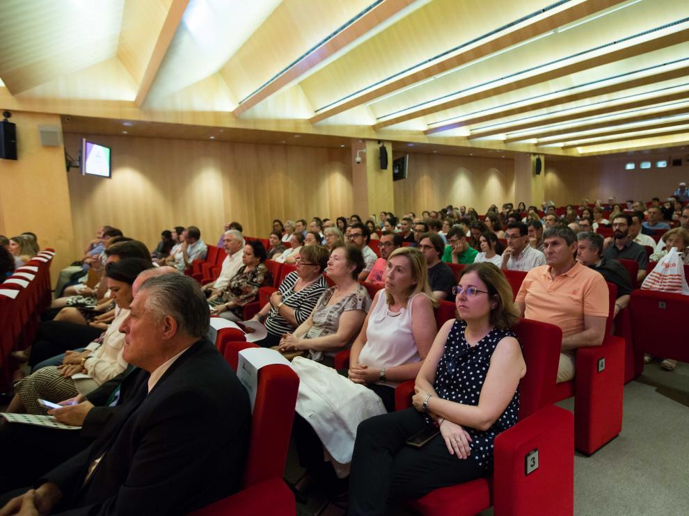 HERALDO, con el patrocinio de la Obra Social de Ibercaja, ha entregado este jueves sus galardones Aragón Solidario.
