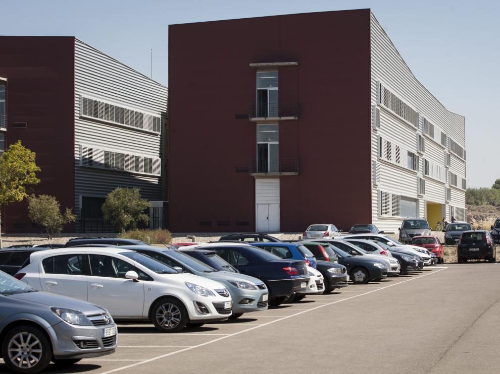 Exterior del campus Río Ebro.