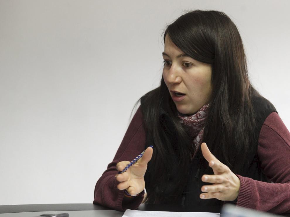 Esther Cereza, alcaldesa de Montanuy