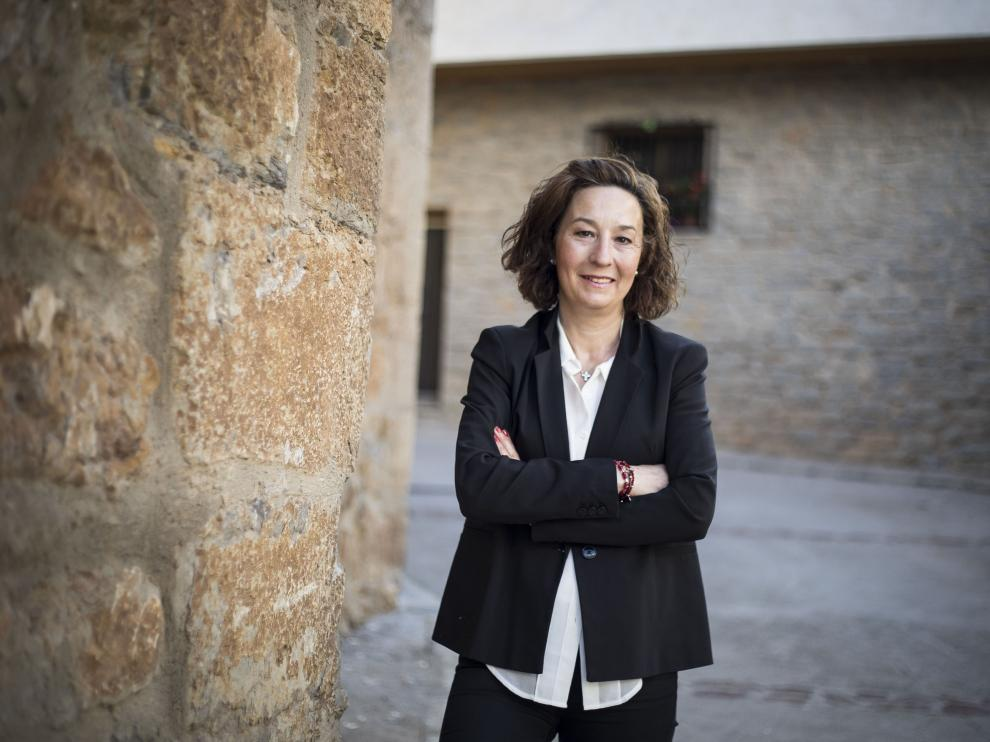 Yolanda Salvador, alcaldesa de Albentosa.