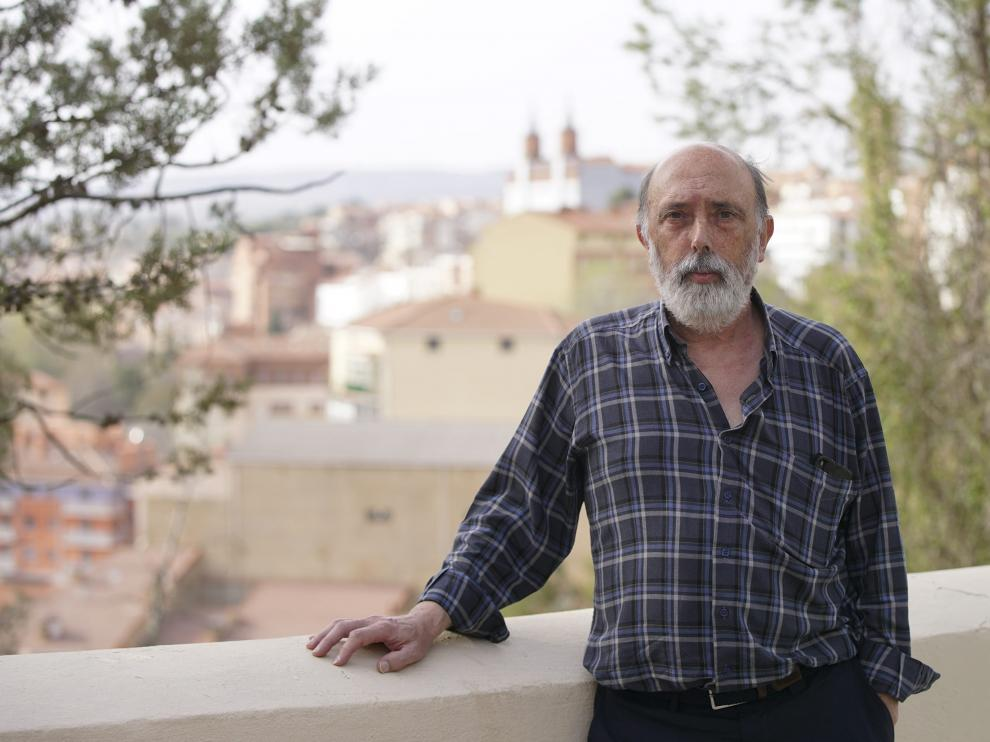 El forense Francisco Etxeberria, durante su reciente estancia en Teruel.