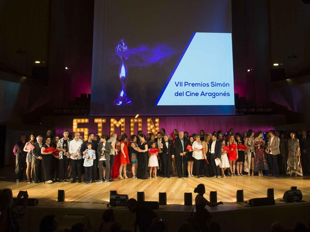 Imagen de archivo de la gala de entrega de los premios Simón 2018