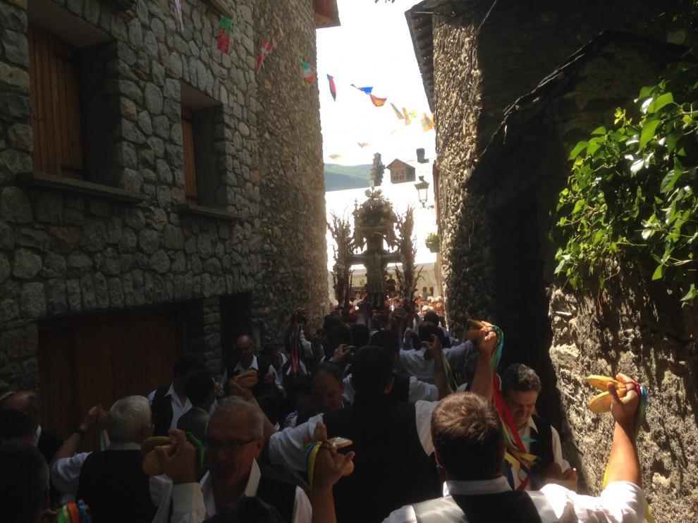 Benasque vive el Día Grande de sus fiestas patronales