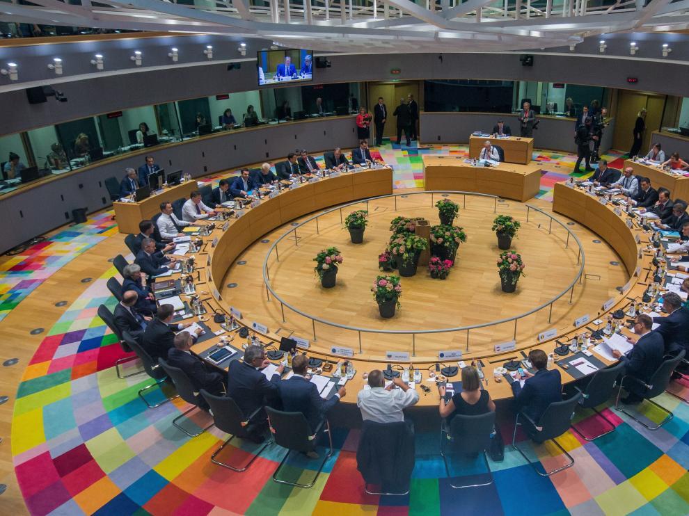 La reunión de los líderes europeos en Bruselas.