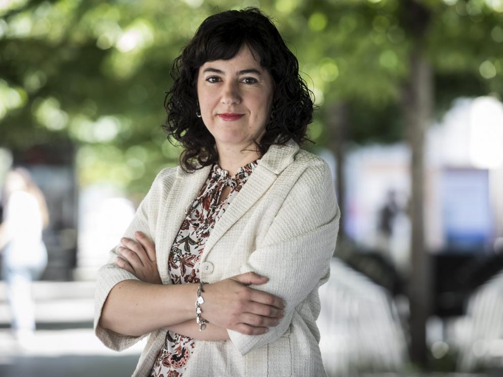 Susana Val, directora del Zaragoza Logistic Center (ZLC)