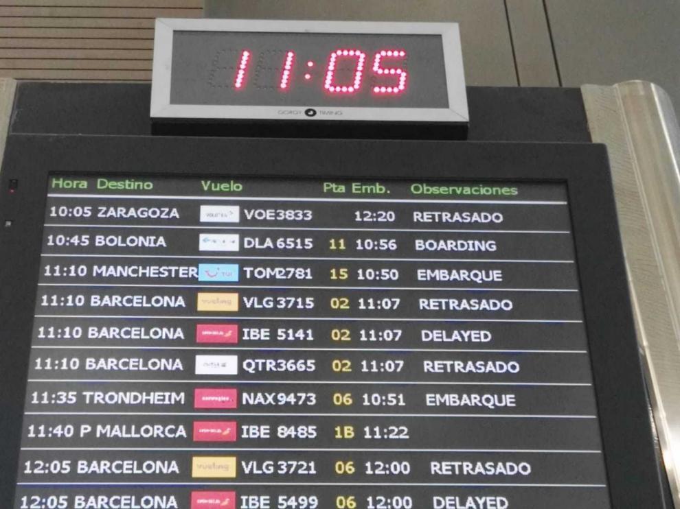 Nuevo horario del vuelo de Volotea