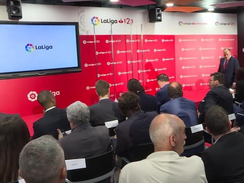 LaLiga recibe a los clubes ascendidos