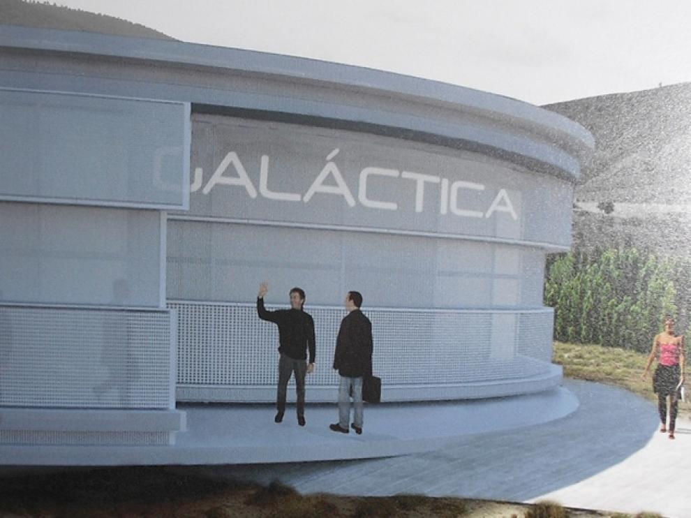 Galáctica, Observatorio astronómico en Teruel