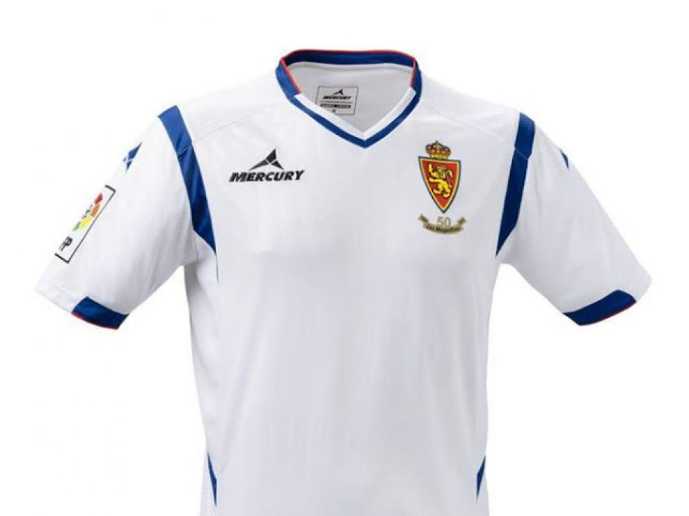 Camiseta del Real Zaragoza para la temporada 2014-15