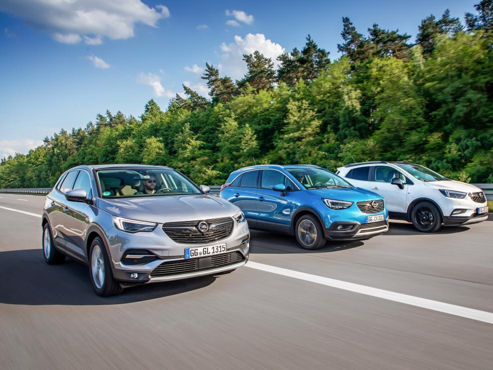 En lo que va de año, uno de cada cuatro compradores de un Opel en Alemania ha elegido un Mokka X, un Crossland X o un Grandland X.