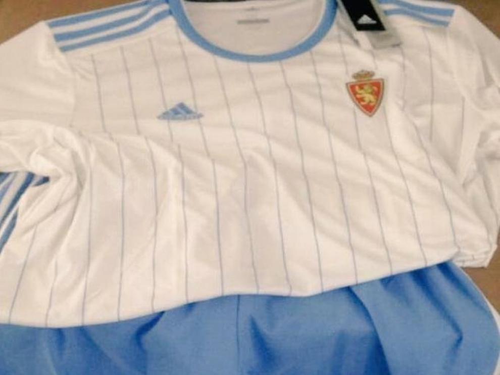 Así será la nueva equipación del Real Zaragoza | Heraldo.es