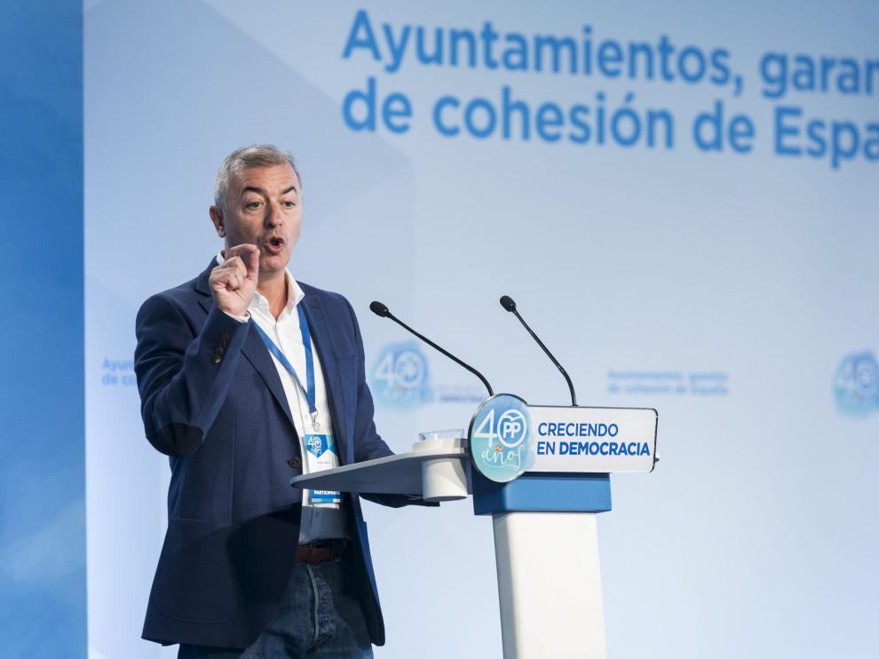 Javier Campoy, presidente provincial del PP Zaragoza.