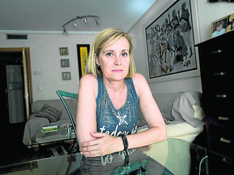 Lucía Nogueras, una de las madres afectadas.