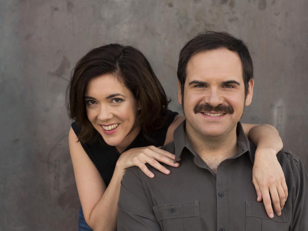 Carmen Barrantes y Jorge Usón van a dedicar el verano a ensayar en Madrid su espectáculo musical para las fiestas del Pilar