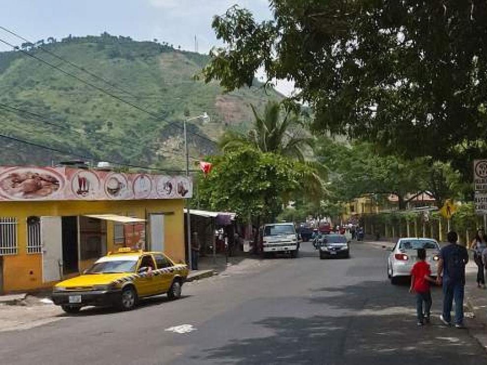 Imagen de la ciudad de San Marcos, en El Salvador.